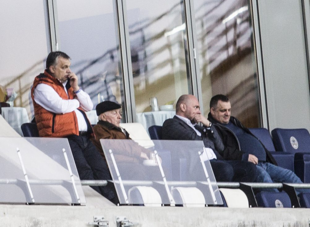 Businessman winning state contracts watched football match with Viktor Orbán