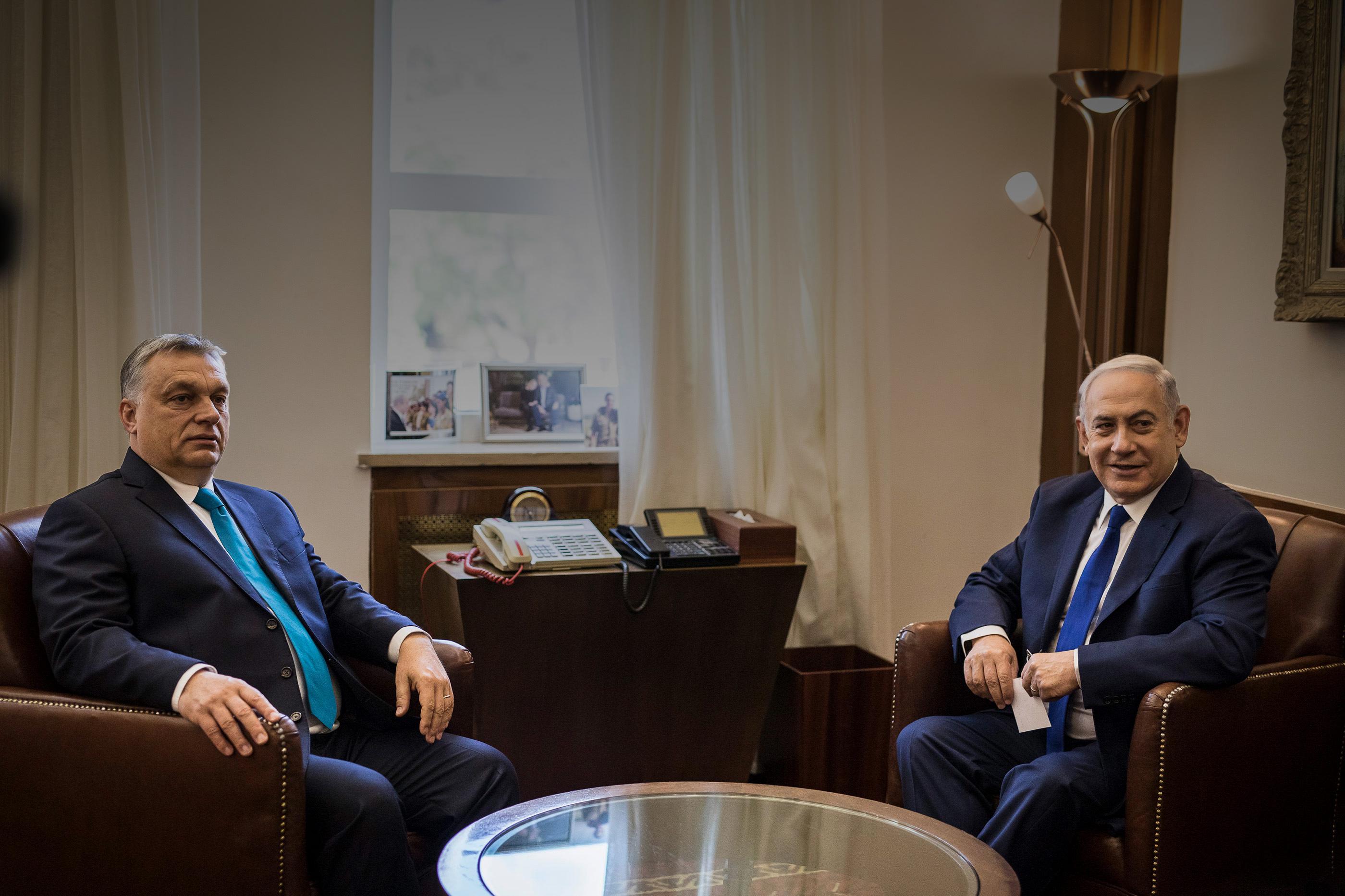 Az izraeli szövetség, ami átírta Orbán politikáját