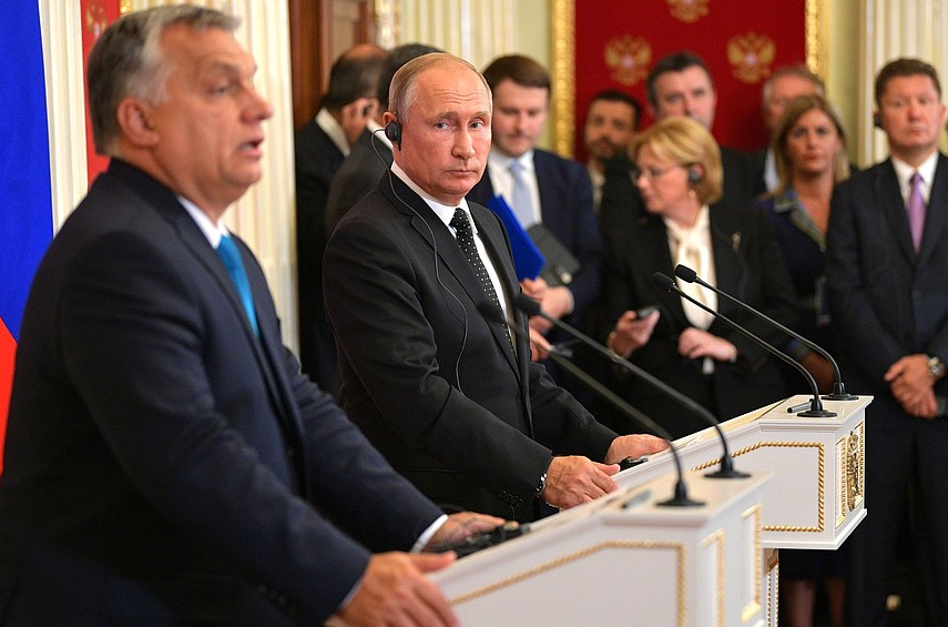 Viktor Orban promised something to Vladimir Putin, but the U.S. intervened
