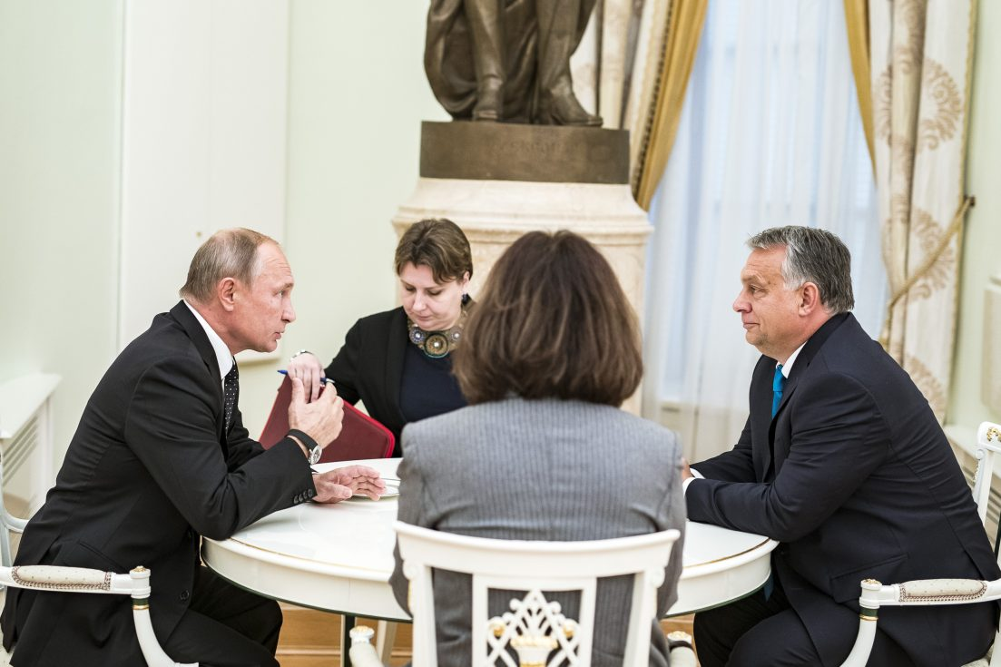 The Russians are poised to benefit from international deal financed by Hungary