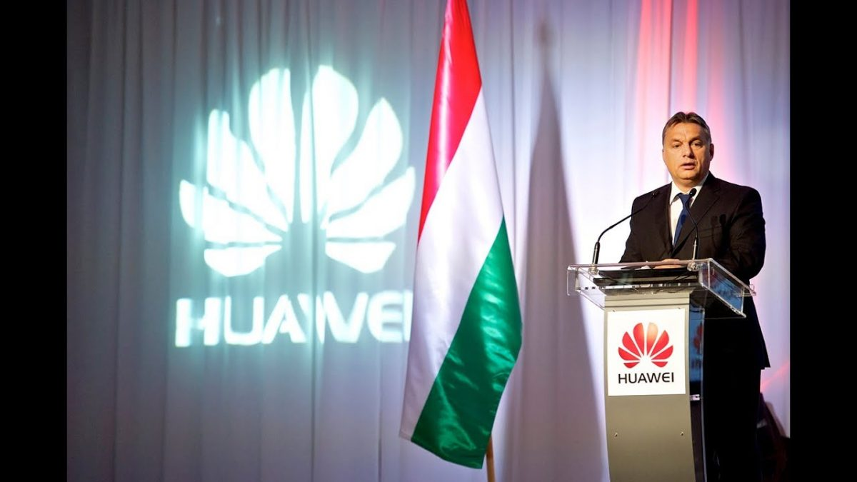 Huawei is slowly pushed out from European 5G networks but the Orban government still supports them