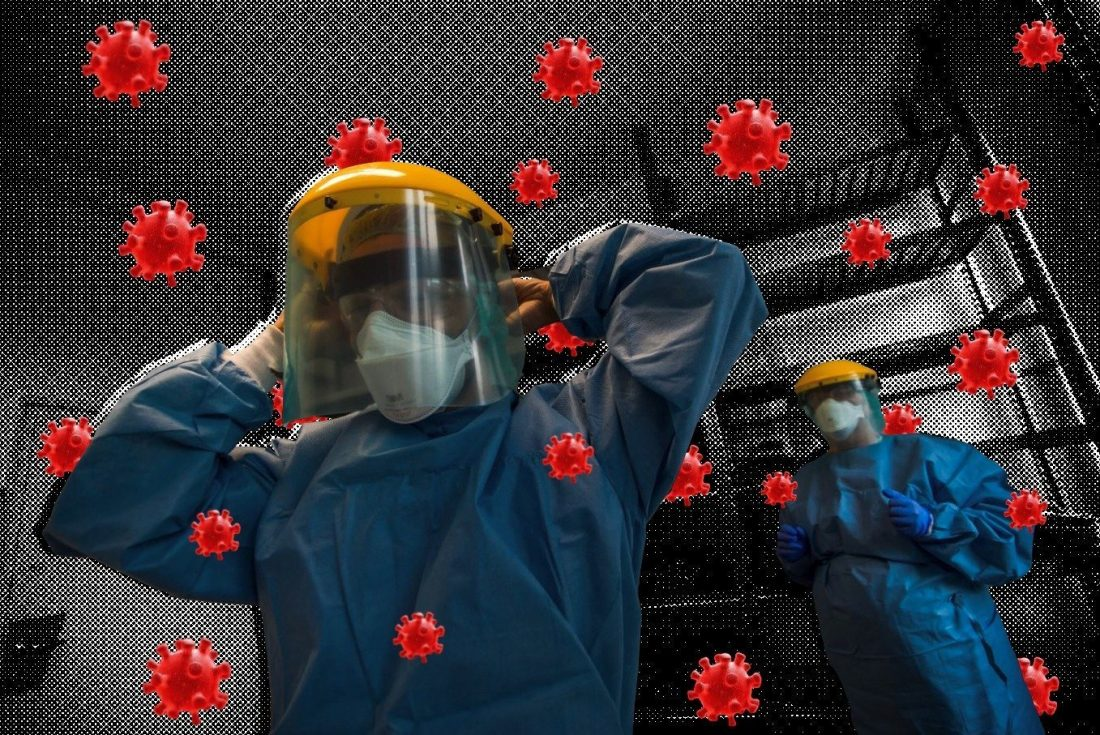 How sloppy coronavirus measures pushed healthcare workers to the brink of death